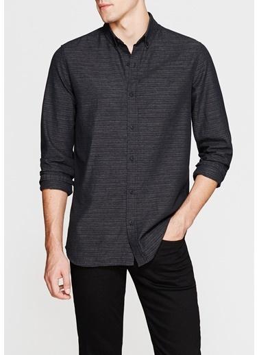 Mavi Cepsiz Gömlek Siyah